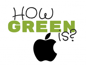 How Green Is Apple?