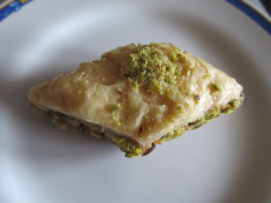 Baklava | Original flash fiction by Kieran Higgins
