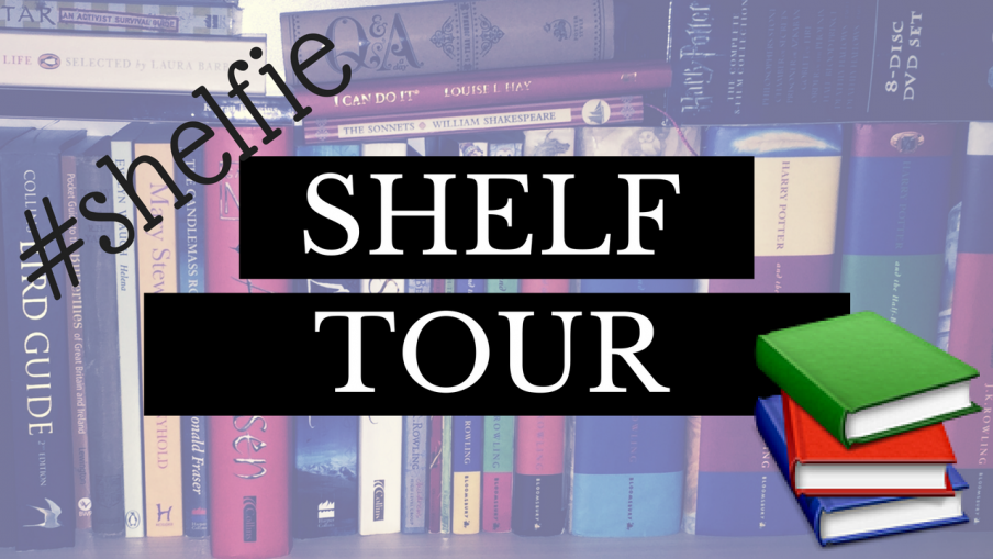 Shelf Tour 2016 | Booktube | Kieran Higgins