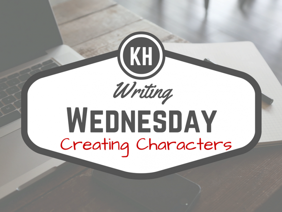 Writing Wednesday | Character Creation | Kieran Higgins