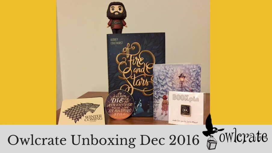 Owlcrate Unboxing Dec 2016 | Kieran Higgins