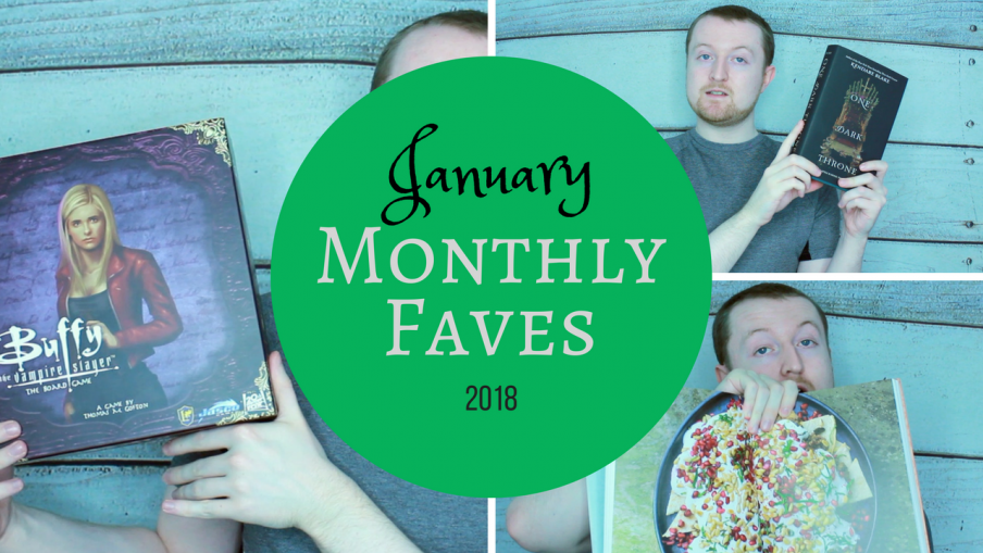 January 2018 Favourites Kieran Higgins
