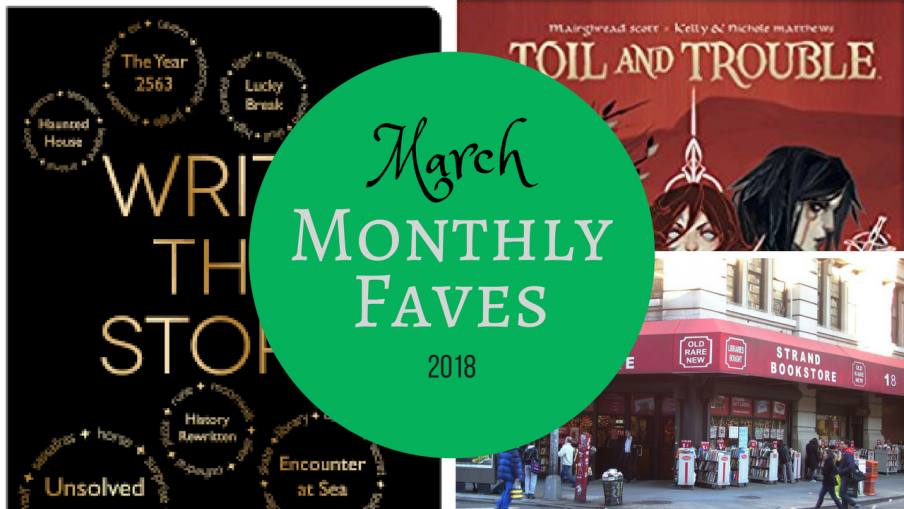 March 2018 Favourites Kieran Higgins