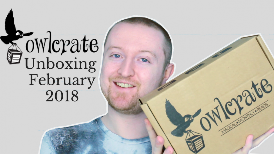 February 2018 Owlcrate Unboxing (Hidden Worlds) Kieran Higgins