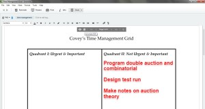 task management in Evernote