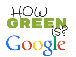 How Green is Google?