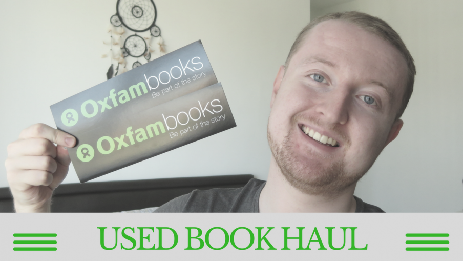 Used Book Haul | Kieran Higgins