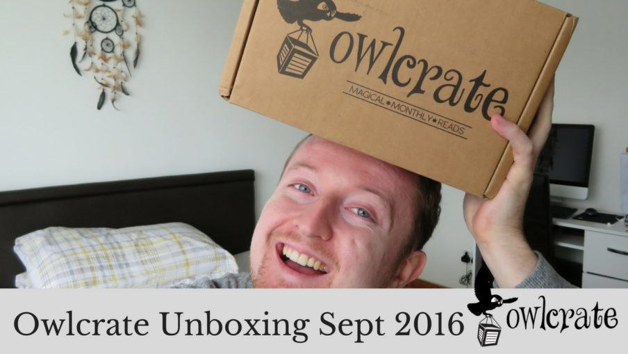 Owlcrate Unboxing Sept 2016 | Kieran Higgins