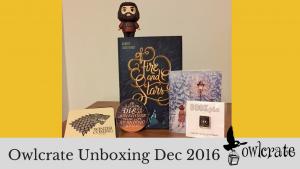 Owlcrate Unboxing Dec 2016 | Kieran Higgins