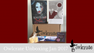 Owlcrate January 2017 Unboxing (Classic Remix)