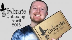 Owlcrate Unboxing April 2018 (Shadows & Secrets) Kieran Higgins