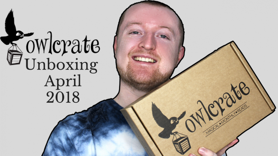 Owlcrate Unboxing April 2018 (Shadows & Secrets) Kieran Higgins