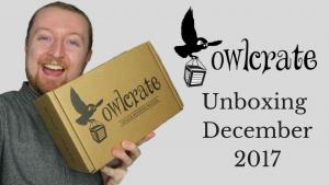Owlcrate Unboxing December 2017 (Seize the Day) Kieran Higgins
