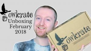 February 2018 Owlcrate Unboxing (Hidden Worlds) Kieran Higgins